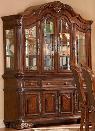 furniture traditional brown dining room hutch for your living