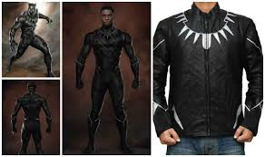 Halloween Costume Leather Jacket Chadwick Boseman Black Panther Costume Diy Guide