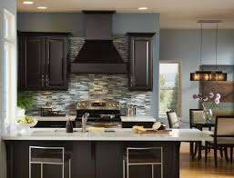 gray kitchen walls brown cabinets get inspired with home design
