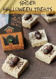 spooktacular spider halloween treats recipe little miss kate