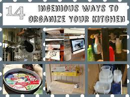 ingenious ways to organize your kitchen