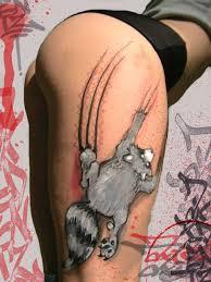 Body Painting Graffiti on girls by Cram Concept
