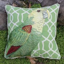 cheap decorative pillows for sofa aliexpress com buy vezo home embroidered parrot bird cotton