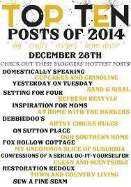 top ten blog posts of 2014 setting for four
