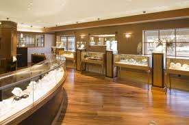 decorating furniture design of jewellery shop with crystal ideas