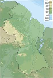 Physical Map Of South America by Maps Of Guyana Map Library Maps Of The World