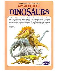 navneet my album of dinosaurs english online in india buy at best