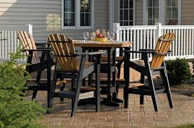 Wholesale Patio Dining Sets by Outdoor Furniture Breezesta Recycled Poly Backyard Patio