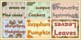 autumn classroom signs and labels primary page 1