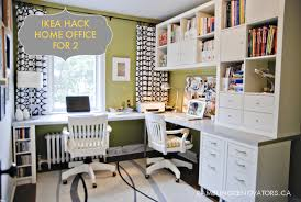 Desk With File Cabinet Ikea by 2x Expedit Bookcases 2x Mikael File Cabinets 2 4pk Capita Legs