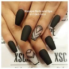matte negative space nail designs cute nails designs pinterest
