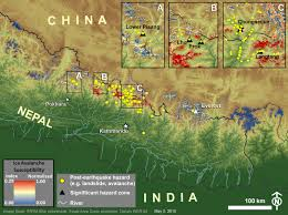Map Of The Villages Florida by Gorkha Quake Induced Chongsecun Landslide And Lake Tibet Nasa