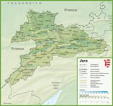 Map Of France And Switzerland by Canton Of Jura Maps Switzerland Maps Of Canton Of Jura