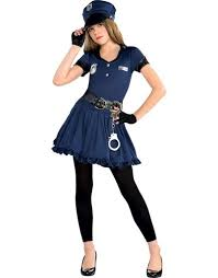 Security Guard Halloween Costume Girls Costume Party