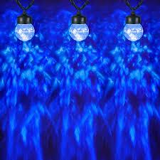 Blue Led String Lights by Shop Gemmy Lightshow Swirling Icy Blue Led Kaleidoscope Christmas