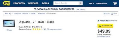 amazon polaroid black friday android tablets at best buy target amazon walmart found to