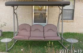 Replacement Canopy Covers by Home Trends North Hills Outdoor Swing Walmart Replacement Canopy