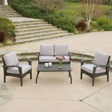Best Wicker Patio Furniture Shop Best Selling Home Decor Honolulu 4 Piece Wicker Patio