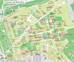Madrid Spain Map by Campus De Moncloa Of Complutense University Map Complutense