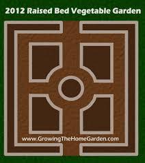 companion vegetable garden layout vegetable garden layout for 2012 growing the home garden