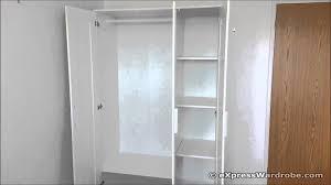 Armoire Penderie Ikea by Ikea Brimnes 3 Door Wardrobe Design Youtube