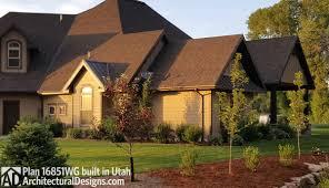 house plan 16851wg client built in utah