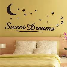 online get cheap wall stickers letters aliexpress com alibaba group wall sticker letters sweet dreams moon stars quote wall decor for bedroom removable vinyl wall sticker