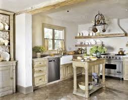 country rustic kitchens simple white design soft blue wall color