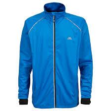 reflective bike jacket trespass blocker mens hi vis active waterproof coat reflective