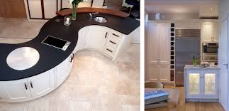 kitchen islands vs peninsulas the low down s curved kitchen island vs kitchen storage peninsula