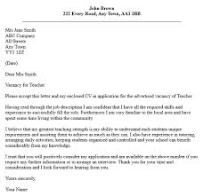 Cover Letter Introduction   cover letter for teaching job Cover Letters