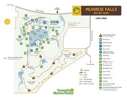 Ohio State Parks Map Munroe Falls Metro Park Summit County Metro Parks