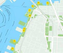 Brooklyn New York Map by Visitor Information Brooklyn Bridge Park