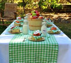 Thanksgiving Picnic Ideas Smart Thanksgiving Decorating Ideas Tablecloth Table Runner And