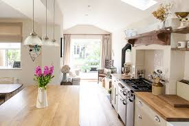 Kitchen Design Hertfordshire Rebecca U0027s Victorian Home Tour Side Return Victorian Terrace And