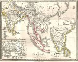 Ancient India Map by