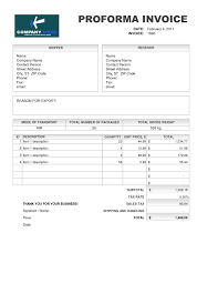 Template For Invoice Word Samples Of Proforma Invoice Invoice Template Free 2016 Meaning