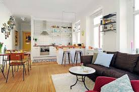 Decorating An Open Floor Plan One Bedroom Apartment Decorating Ideas Excellent Cosy One Bedroom