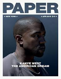 Kanye West has written an essay for Paper Magazine and it     s a long