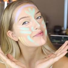 multi color correcting makeup is basically the new contouring
