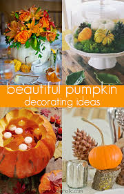 Thanksgiving Pumpkin Decorating Ideas Remodelaholic Beautiful And Easy Pumpkin Tablescape Ideas For