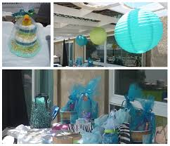 cheap baby shower supplies for boy blue elephant baby boy shower