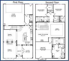 4 Bedroom Cabin Floor Plans 100 One Story Cabin Plans Small 2 Story House Plans