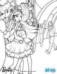 tori is backstage coloring pages hellokids com