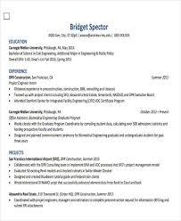civil engineering resume examples 30 generic engineering resume templates free u0026 premium templates