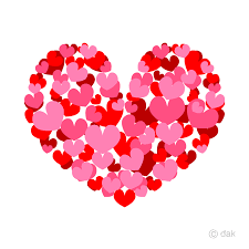 ハート イラスト ハートリボン ピンク 水玉 イラスト素材 [ 5305694 ] - フォト ...