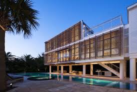 Raised Beach House by Stephen Yablon Architecture Guest Pavilion