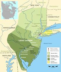 United States Map Delaware by Lenape Wikipedia