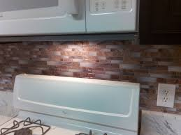 Backsplash Peel And Stick Mosaic Wall Tile Installation YouTube - Peel on backsplash