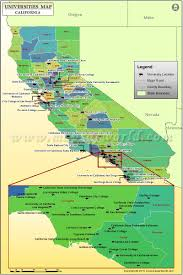 Colorado State University Map by Map Of Universities In California List Of Colleges And